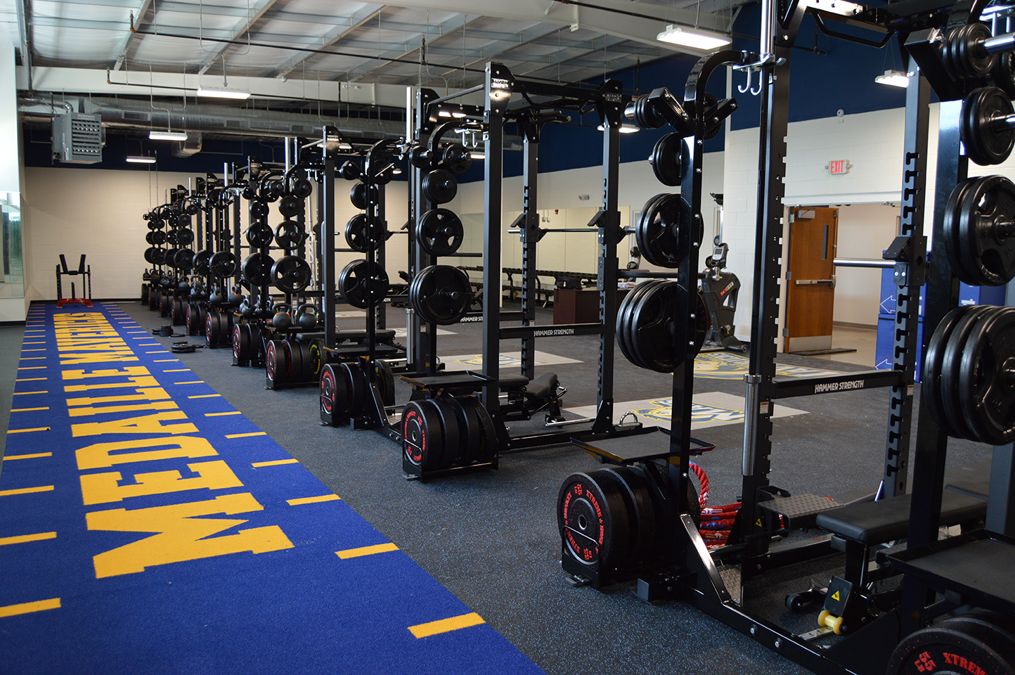 Training Room at Medaille Sports Complex
