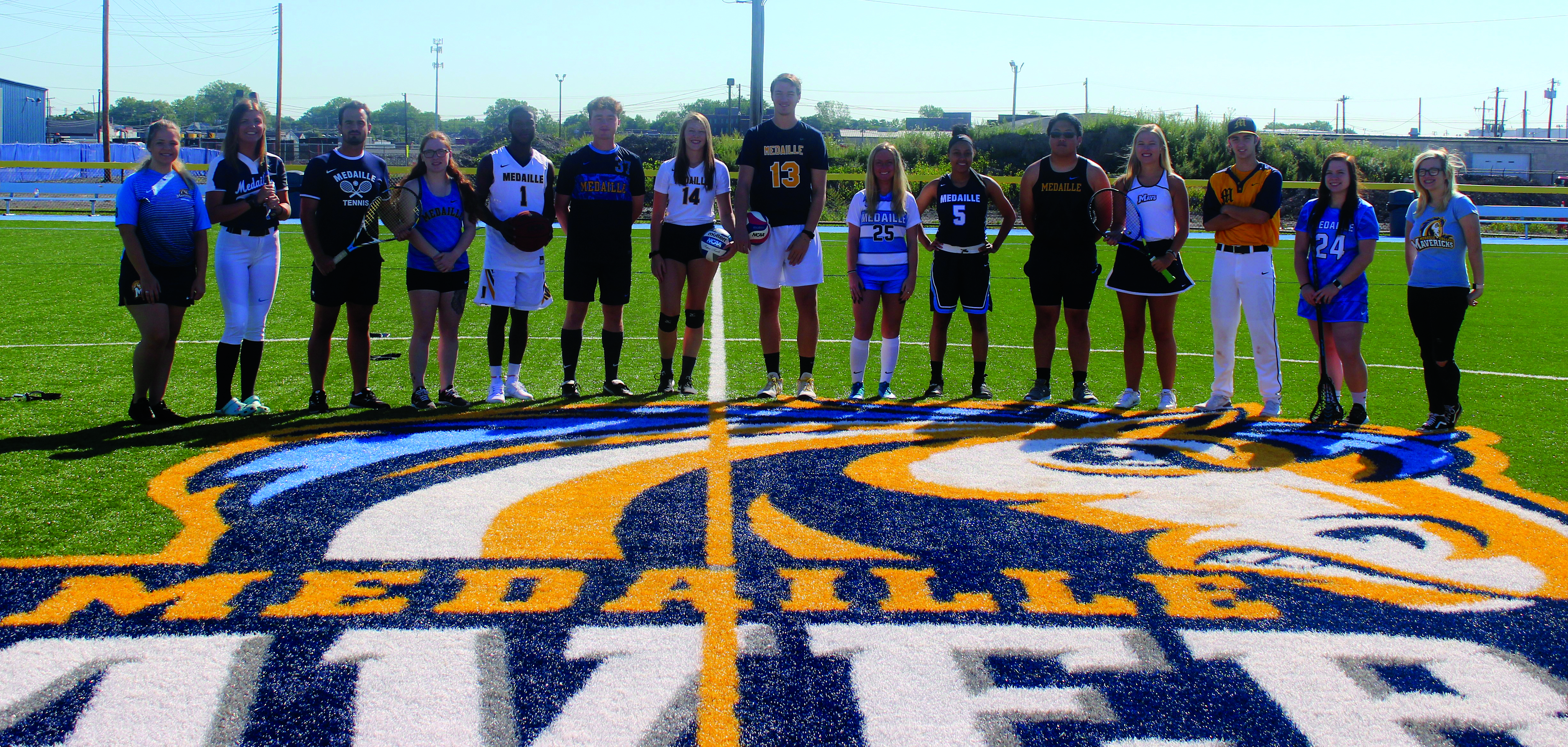Medaille College Athletes on New Field