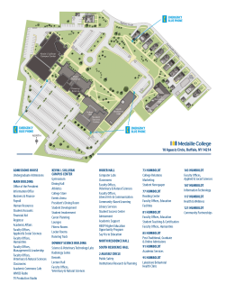 Medaille College Buffalo Campus Map of Offices
